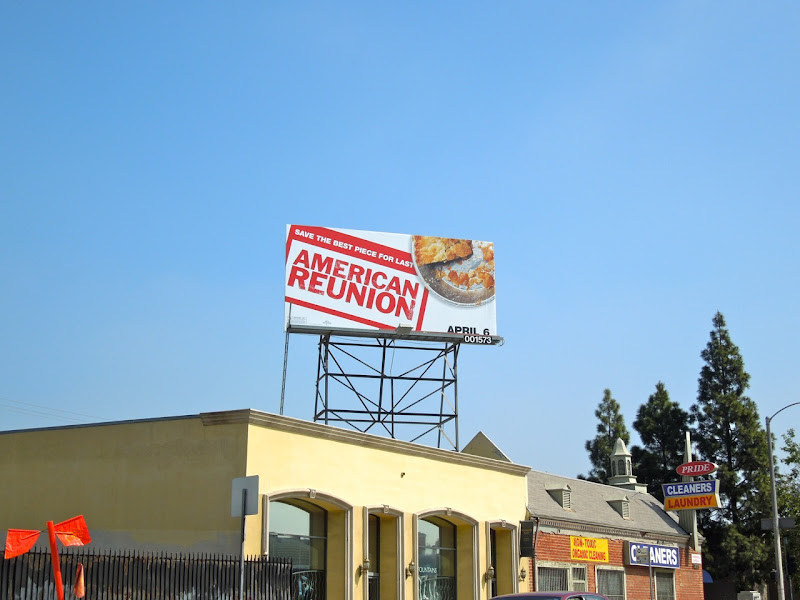 American Reunion pie billboard