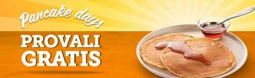 McDonald's Pancake gratis