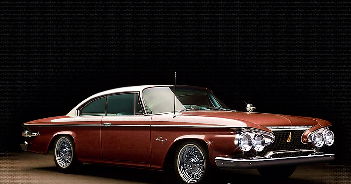 Casey Artandcolour Cars 1961 Plymouth Fury Design Tweak