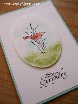 Simply Sketched, Stampin' Up! With heartfelt sympathy
