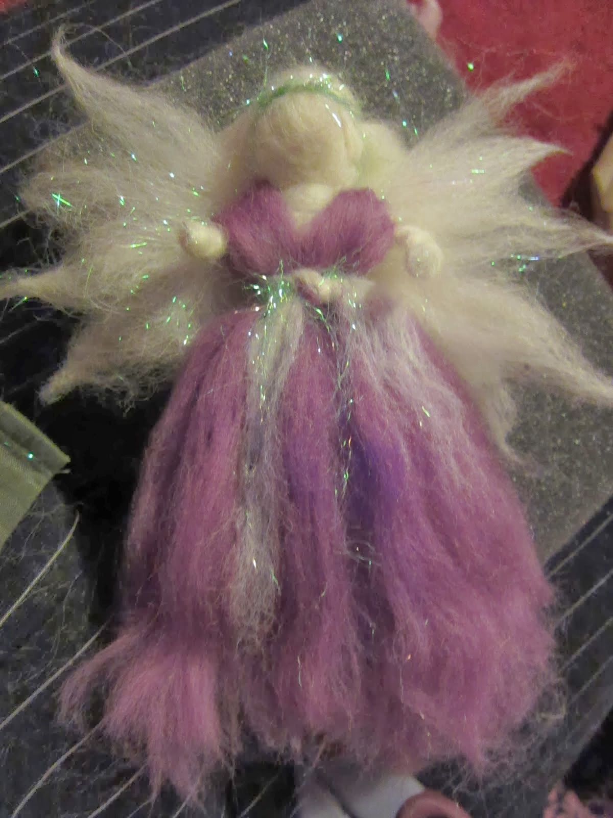 First Felted Fairy
