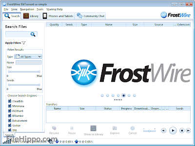 FrostWire 5.6.1 Free Download