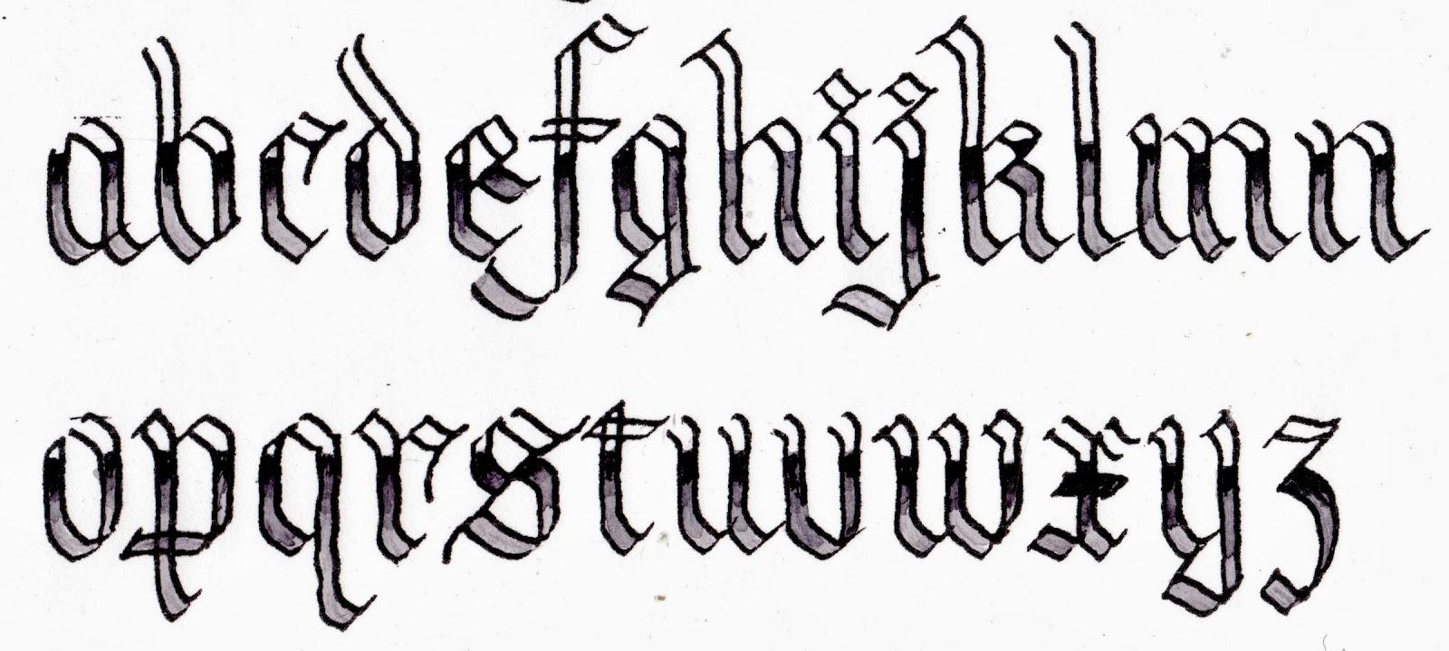 Margaret Shepherd Calligraphy Chrome Plate