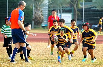 SCB Under 11 and Under 13 Mini Rugby Tournament 2014