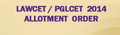 LAWCET / PGLCET College Seat Allotment Order 2014 Download at www.cetadm.apsche.ac.in
