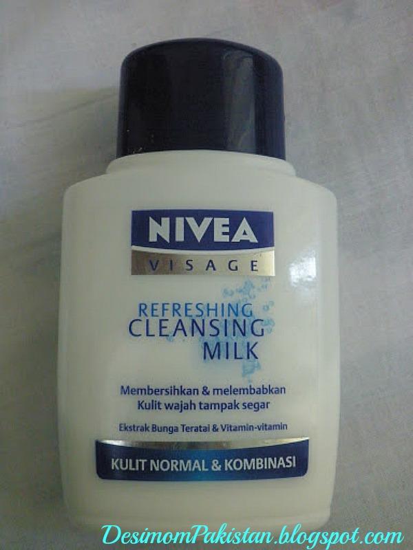 NIVEA VISAGE REFRESHING CLEANSING MILK