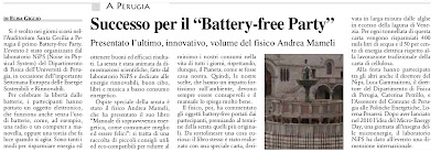 battery free party la discussione aprile 2011