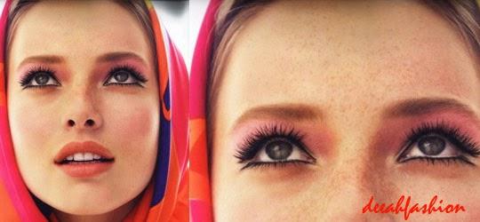 Jilbab Art Pop Modis Warna Pelangi