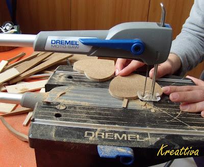 taglio con dremel moto saw