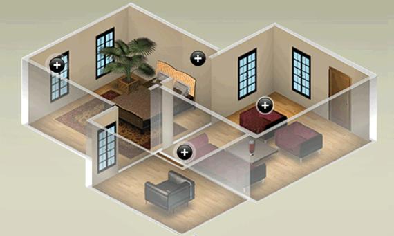 B aprende en casa mi propia organizaci n de las zonas - Hacer planos de casa ...