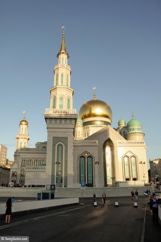 московская соборная мечеть фото 2015