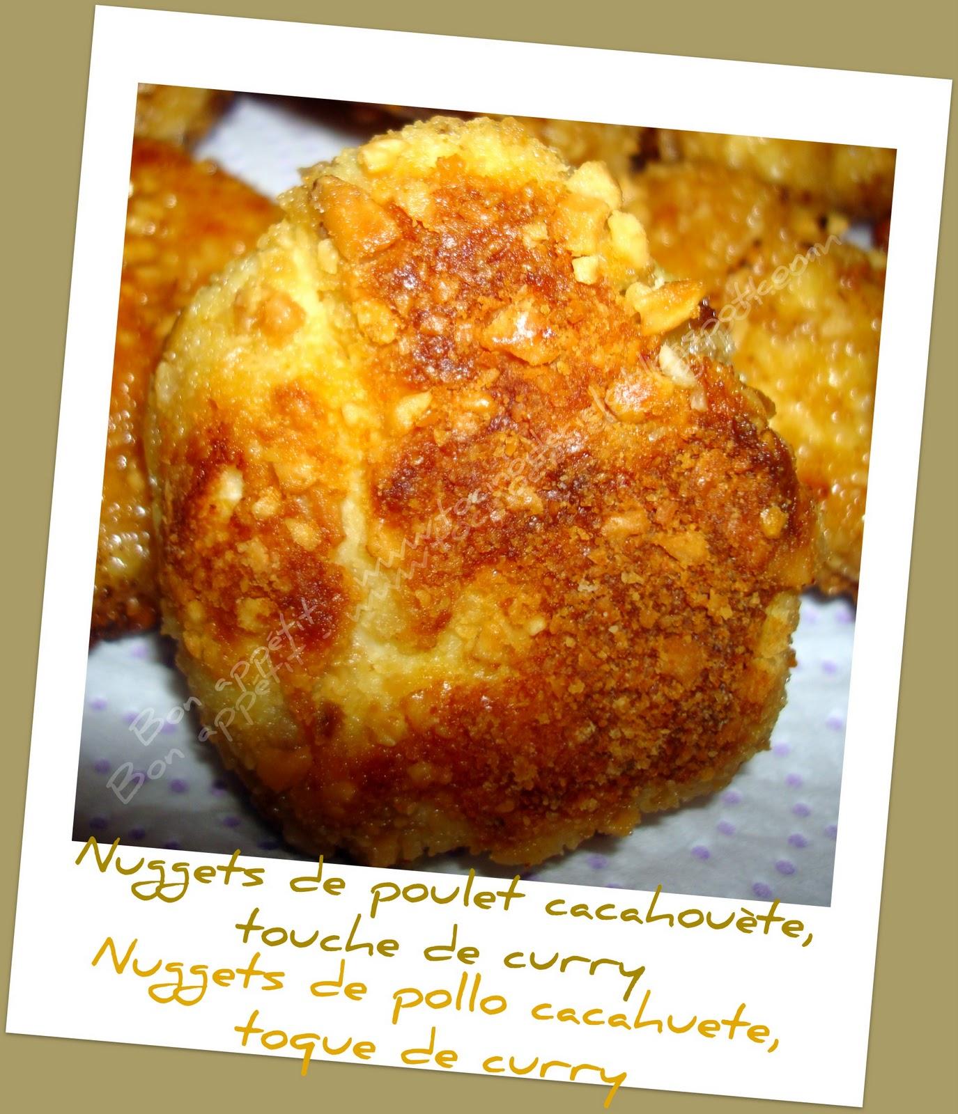 Nuggets De Poulet Panés: BON APPETIT: Nuggets De Poulet Cacahuètes Et Touche De