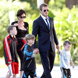 Beckham With Family