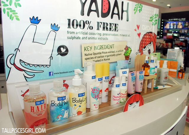 Vast range of Yadah products