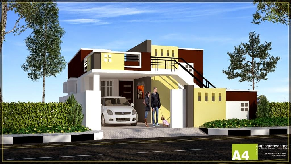 Front Elevation Of House In Coimbatore : Real value house near singanallur and ondipudur