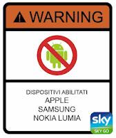 sky go android nokia samsung apple