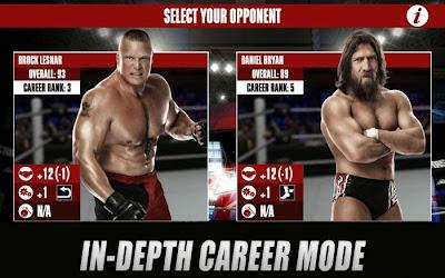 WWE 2K Apk + Data Android screenshot