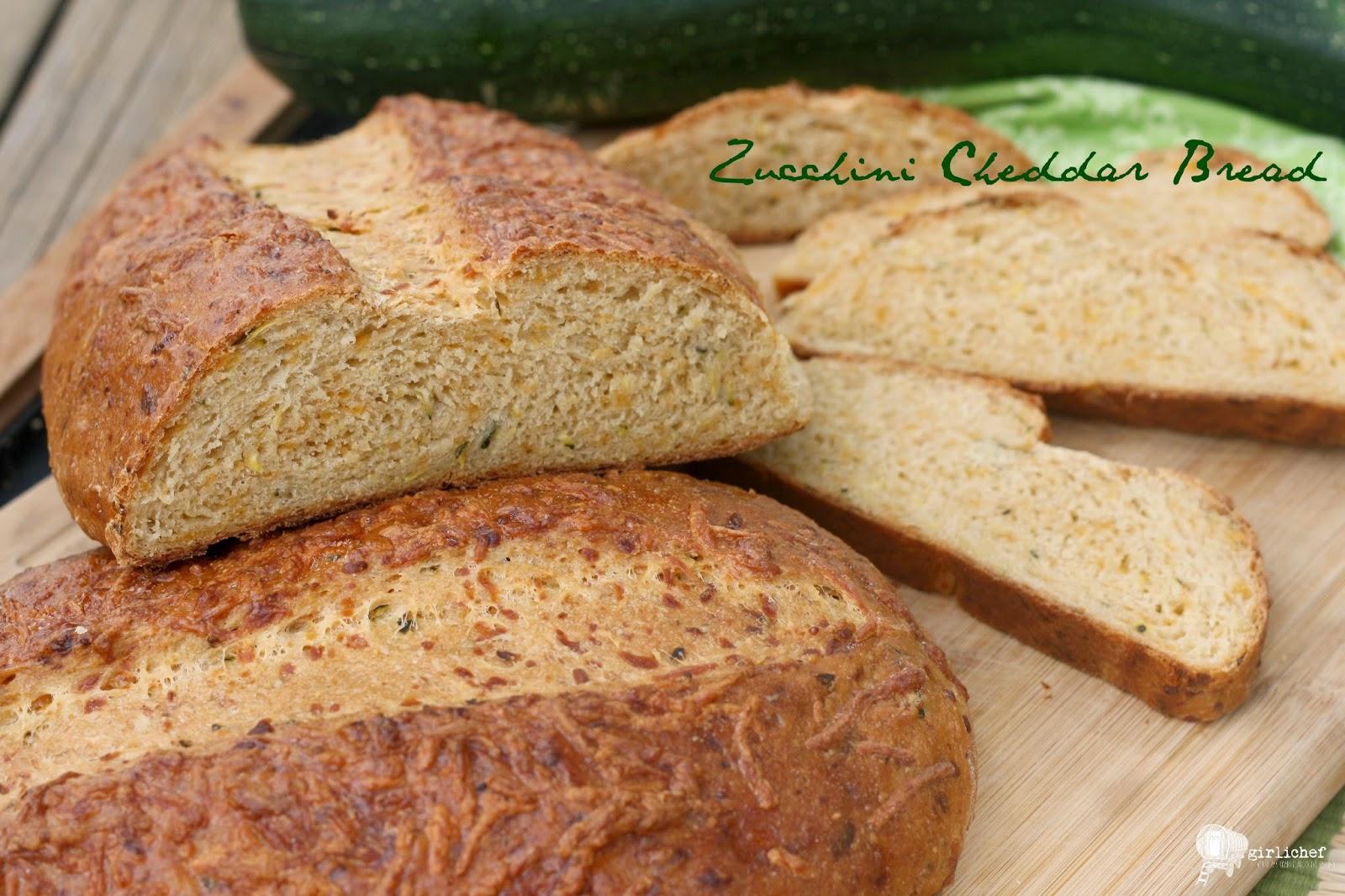 Zucchini Cheddar Bread | All Roads Lead to the Kitchen