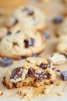 Thick and Chewy Chocolate Chunk Peanut Butter Cookies
