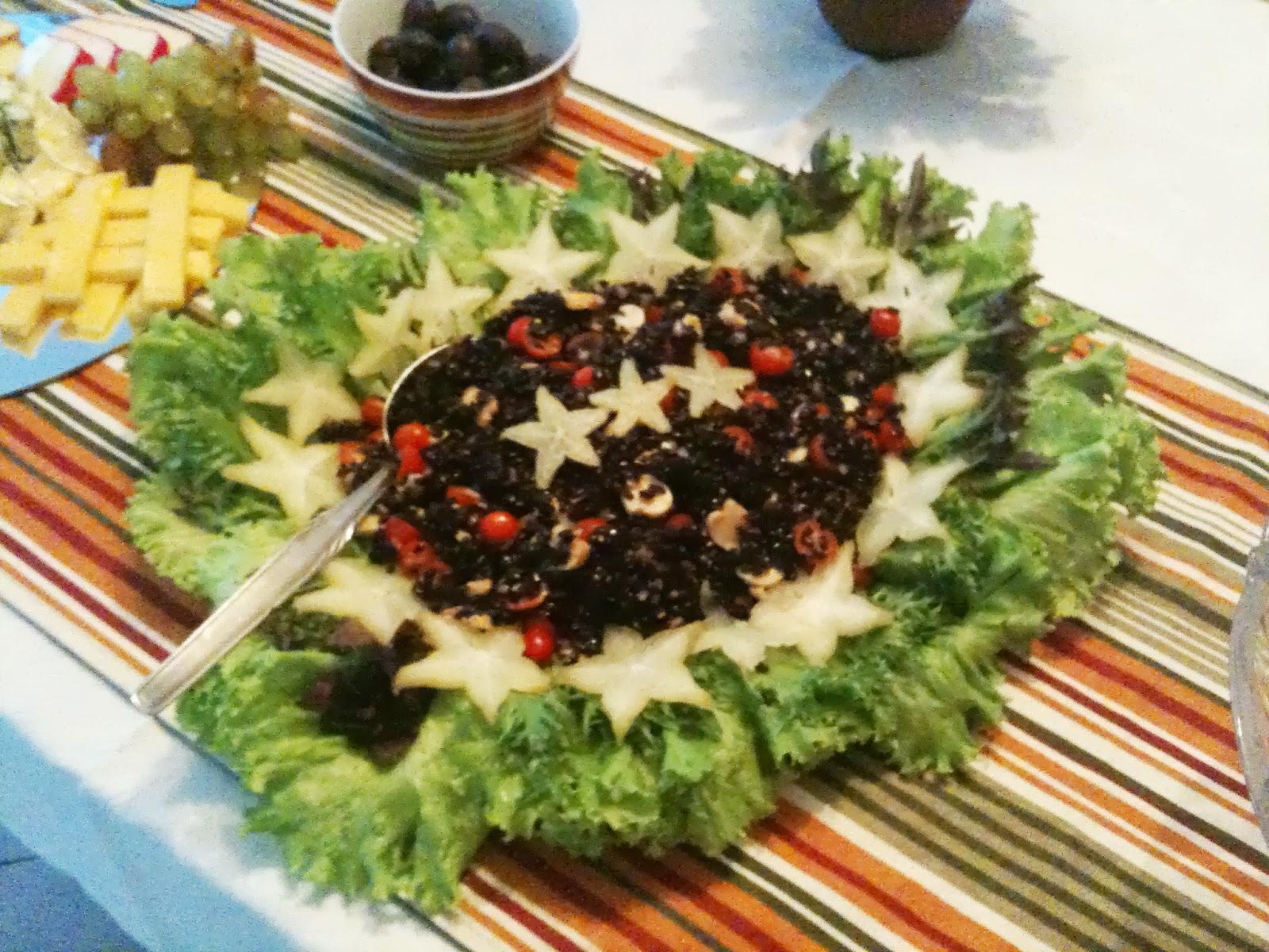 Salada de Arroz Preto