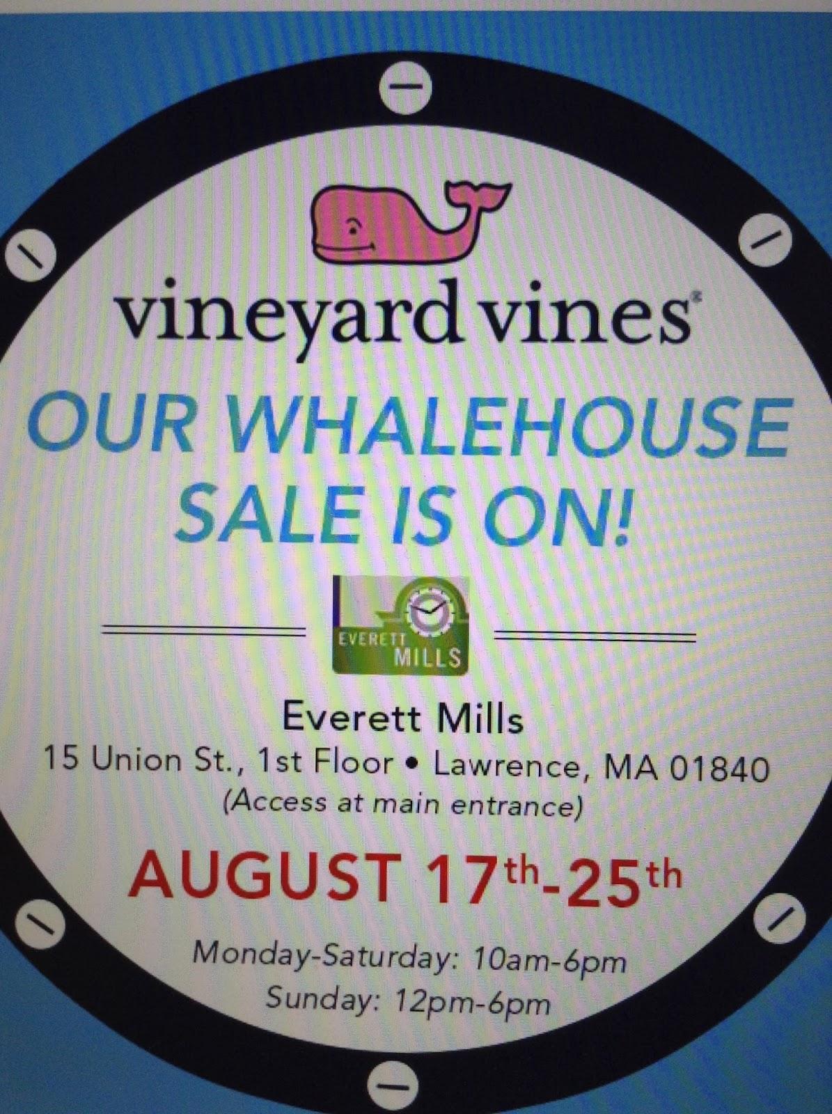 Vineyard vines whalehouse sale rhode island 2015 butik work