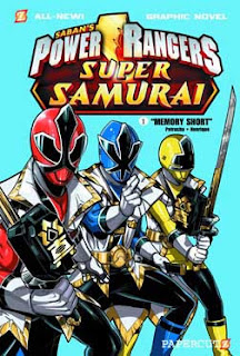 Power Rangers Super Samurai Comics