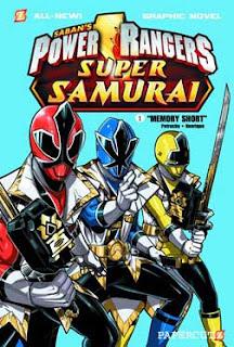 Power Rangers Super Samurai Comics