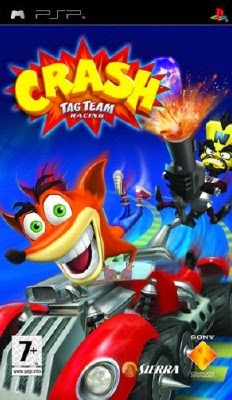 game Crash Tag Team Racing psp