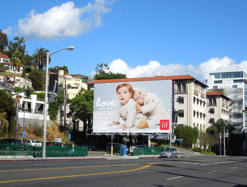 Love Baby Gap billboard