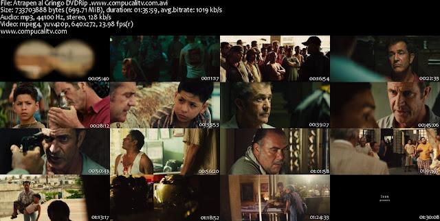 Atrapen al Gringo DVDRip Español Latino Película 2012