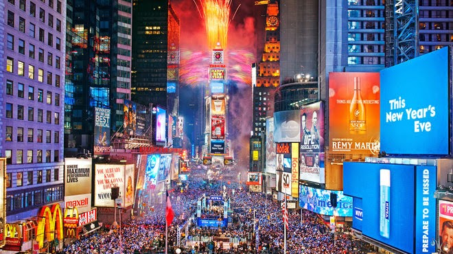 best parties in world for NYE