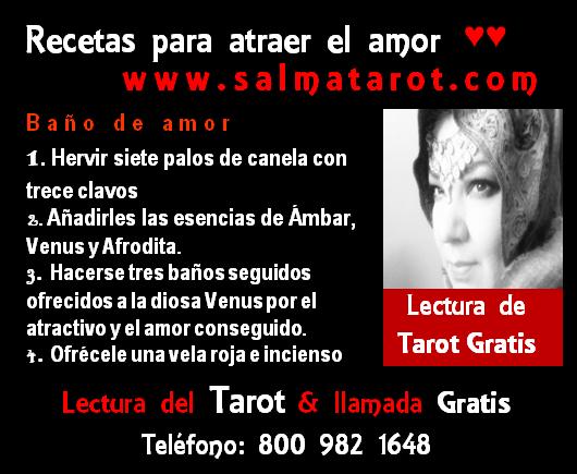 Baño Sencillo Para Atraer El Amor:Salma la Tarotista del Amor Lectura y llamada Gratis 800 982 1648 www