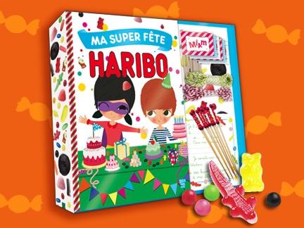 40 coffrets Ma Super Fête Haribo