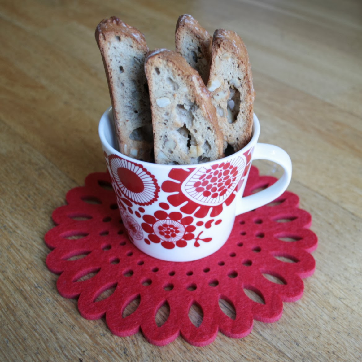 Banana & Nut Biscotti - the perfect recipe for when you have overripe bananas that need to be used up!