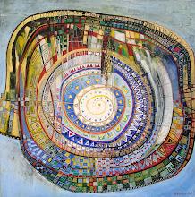 Les chemins du ciel - 100 x 100 cm - 2013