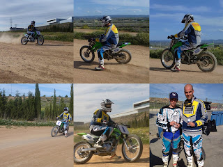 dirt track en el noyes camp de aragon