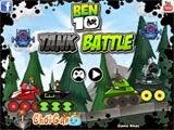 Game Ben 10 bắn tank