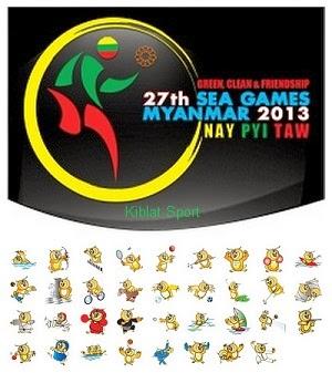 Klasemen Perolehan Medali SEA Games 2013 Myanmar
