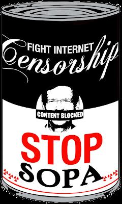 Yo no quiero SOPA (Alto a la Censura de Internet)
