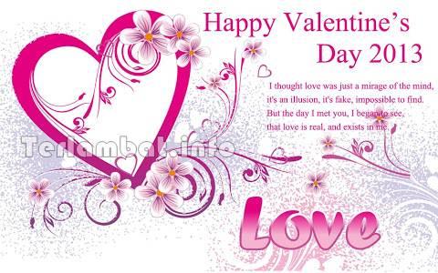Selamat Valentine 2013