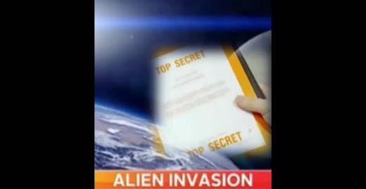 Planes militares de Estados Unidos contra una invasión alienígena