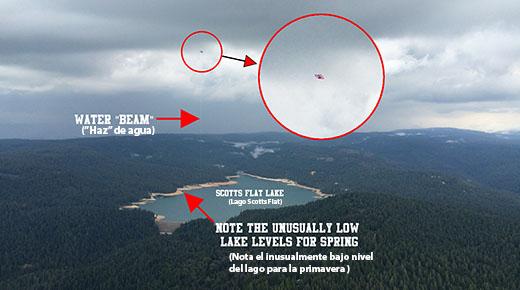 OVNI fue captado absorbiendo agua de un lago en EE.UU.