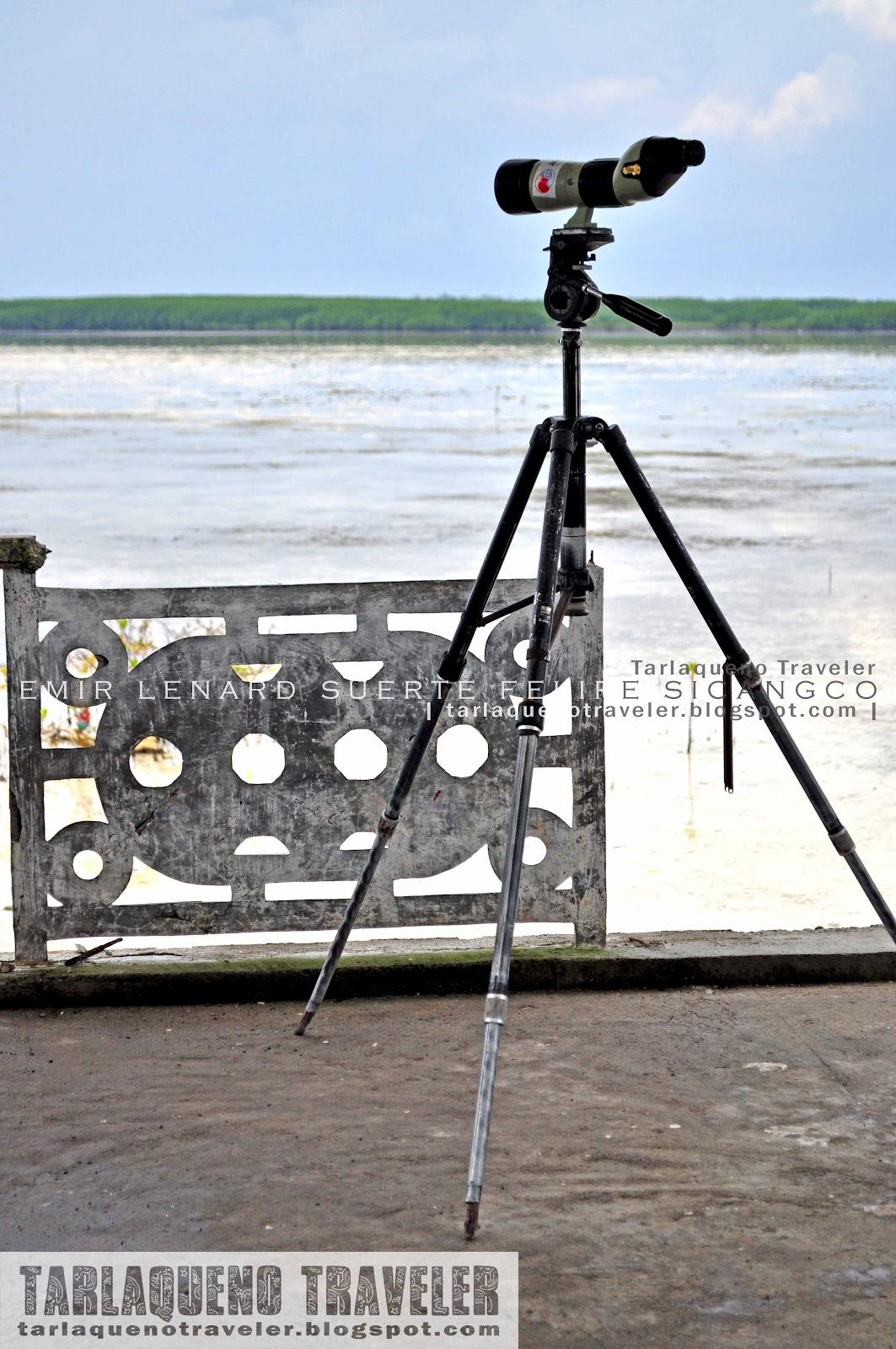 High range telescope Olango Island Wildlife Sanctuary