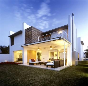 decorar com Casa Moderna Design Dinâmico