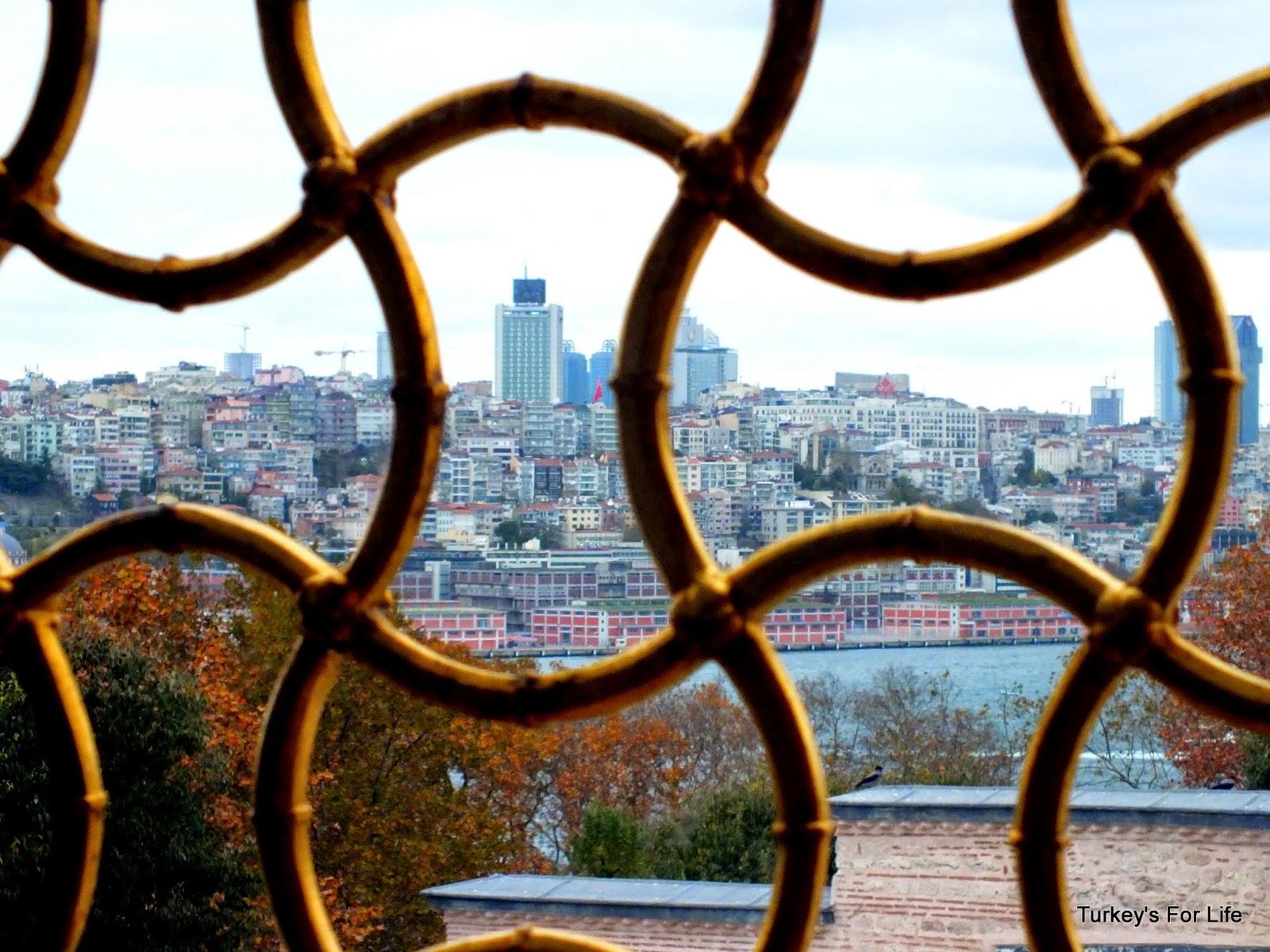 Modern Istanbul From Topkapı Palace Harem
