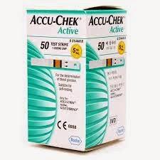 شرائط جهاز تحليل السكر فى الدم اكواتشيك Test strips accu chek active