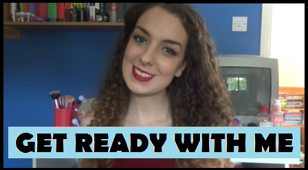 Get Ready With Me | Smokey Eye With A Red Lip