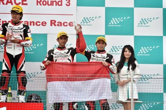 Pembalap Indonesia Kibarkan Merah Putih di Suzuka 2 Hour