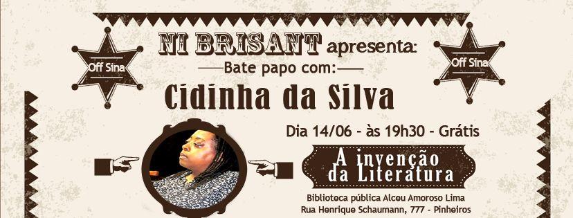 Bate-papo na Biblioteca Alceu Amoroso Lima, dia 14 de maio de 2017