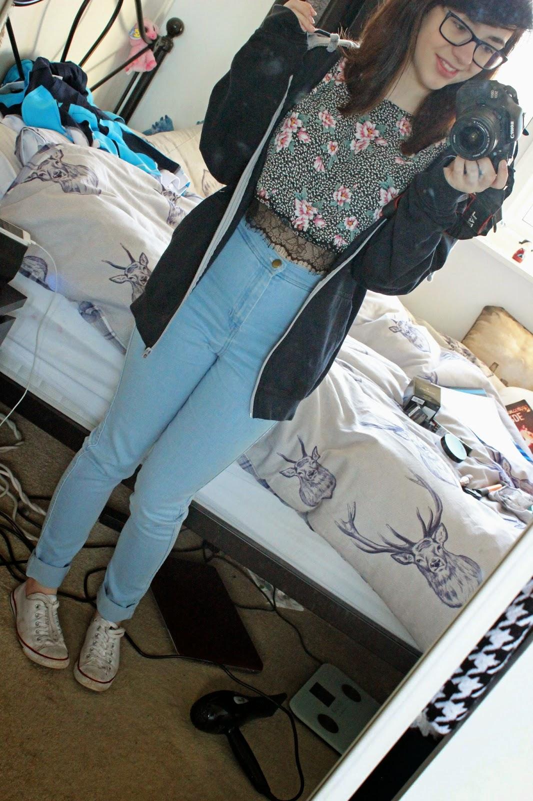 OOTD | American Apparel Jeans